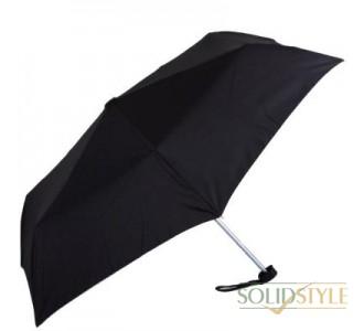 Зонт мужской механический компактный облегченный  FULTON (ФУЛТОН) FULL349-Black