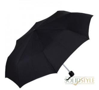 Зонт мужской компактный облегченный механический  FULTON (ФУЛТОН) FULL353-Black