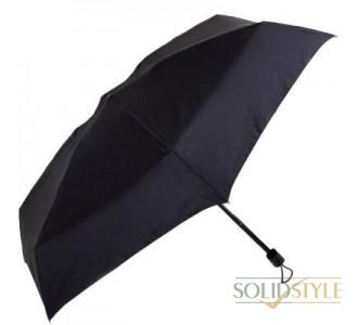 Зонт мужской компактный облегченный механический  FULTON (ФУЛТОН) FULG843-Black