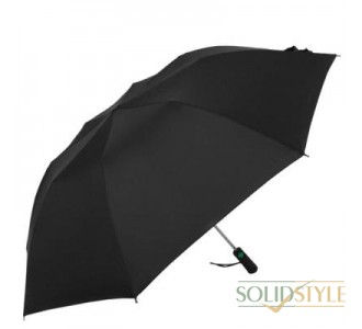 Противоштормовой зонт мужской полуавтомат  FULTON (ФУЛТОН), модель Windbreaker FULU801-Black