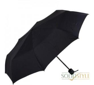 Зонт мужской компактный механический FULTON  (ФУЛТОН) FULG839-Black