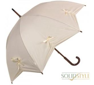 Зонт-трость женский механический FULTON (ФУЛТОН) FULL776-Star-Cream