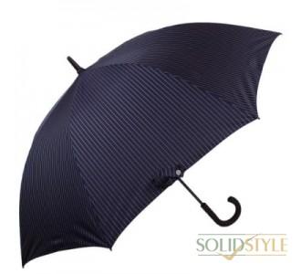 Зонт-трость мужской полуавтомат FULTON(ФУЛТОН) FULG451-City-Stripe-Navy
