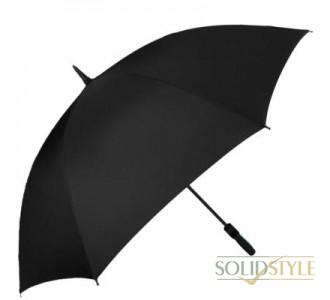 Противоштормовой зонт-трость мужской механический  с большим куполом FULTON (ФУЛТОН) FULS837-Black