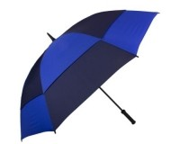 Зонт-трость противоштормовой мужской механический  FULTON (ФУЛТОН) FULS669-Blue-Navy