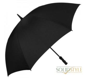 Зонт-трость мужской механический с большим  куполом FULTON (ФУЛТОН) FULS667-Black