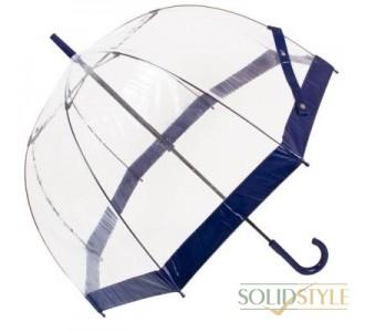 Зонт-трость женский механический FULTON (ФУЛТОН) FULL041-Navy