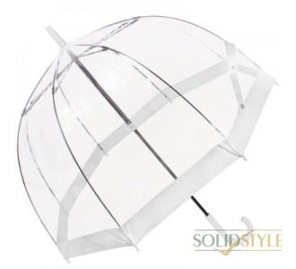 Зонт-трость женский механический FULTON (ФУЛТОН) FULL041-White