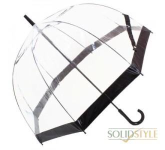 Зонт-трость женский механический FULTON (ФУЛТОН) FULL041-Black