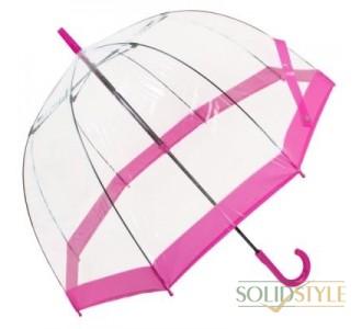 Зонт-трость женский механический FULTON (ФУЛТОН) FULL041-Pink
