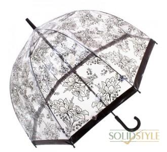 Зонт-трость женский механический FULTON (ФУЛТОН) FULL042-Stencil-Floral