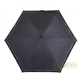 Зонт женский механический компактный облегченный  FULTON (ФУЛТОН) FULL501-ClassicsBlack-gor