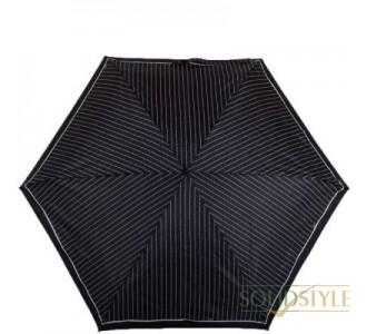 Зонт женский механический компактный облегченный  FULTON (ФУЛТОН) FULL501-ClassicsBlack-pol