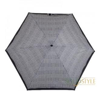 Зонт женский механический компактный облегченный  FULTON (ФУЛТОН) FULL501-ClassicsBlack-gys