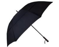 Зонт-трость противоштормовой мужской механический  с большим куполом JEAN PAUL GAULTIER (ЖАН-ПОЛЬ ГОТЬЕ) FRHJPG37E15-black