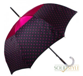 Зонт-трость женский механический GUY de JEAN  (Ги де ЖАН) FRH-ELEGANTEH1-bordo