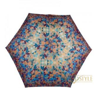 Зонт женский облегченный компактный механический  ZEST (ЗЕСТ) Z55517-5122